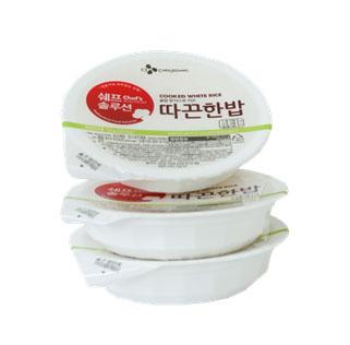 [CJ제일제당] 쉐프솔루션 따끈한밥 200g