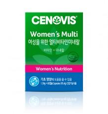 [세노비스] 여성용 멀티비타민 미네랄 60캡슐
