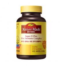 [네이처메이드] 슈퍼 D+ 아연 면역 콤플렉스 100캡슐