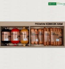 [냉장]건국수제햄 KU 화 세트